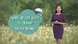 기상캐스터 윤수미의 7월 28일 날씨정보 (2021.0…