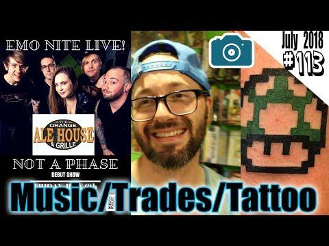 Music, DanGo Trade night & Mario Tattoo   Daily Vlog EP 113   Russ Lyman