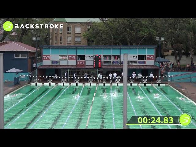 #203 Mixed 50 LC Meter Backstroke Heat 3 of 6 Finals