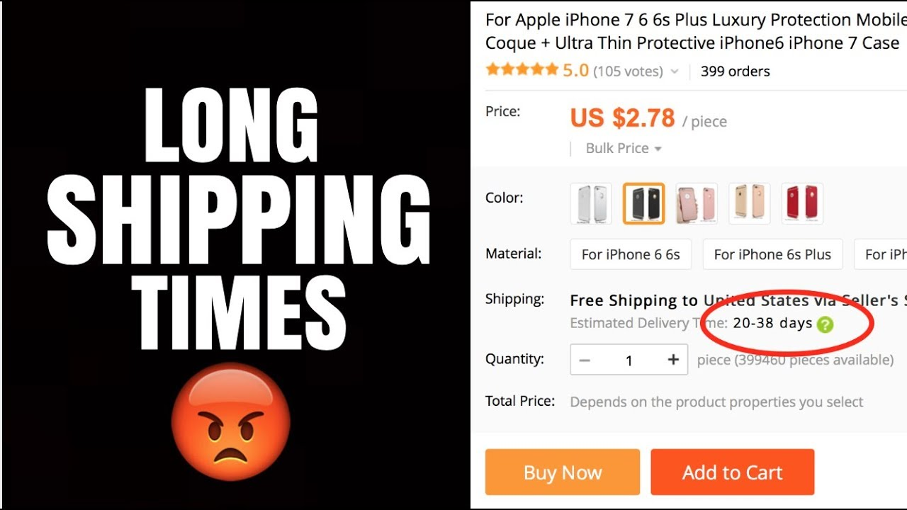 How To Deal With Long Shipping Times From AliExpress (Shopify Dropshipping)