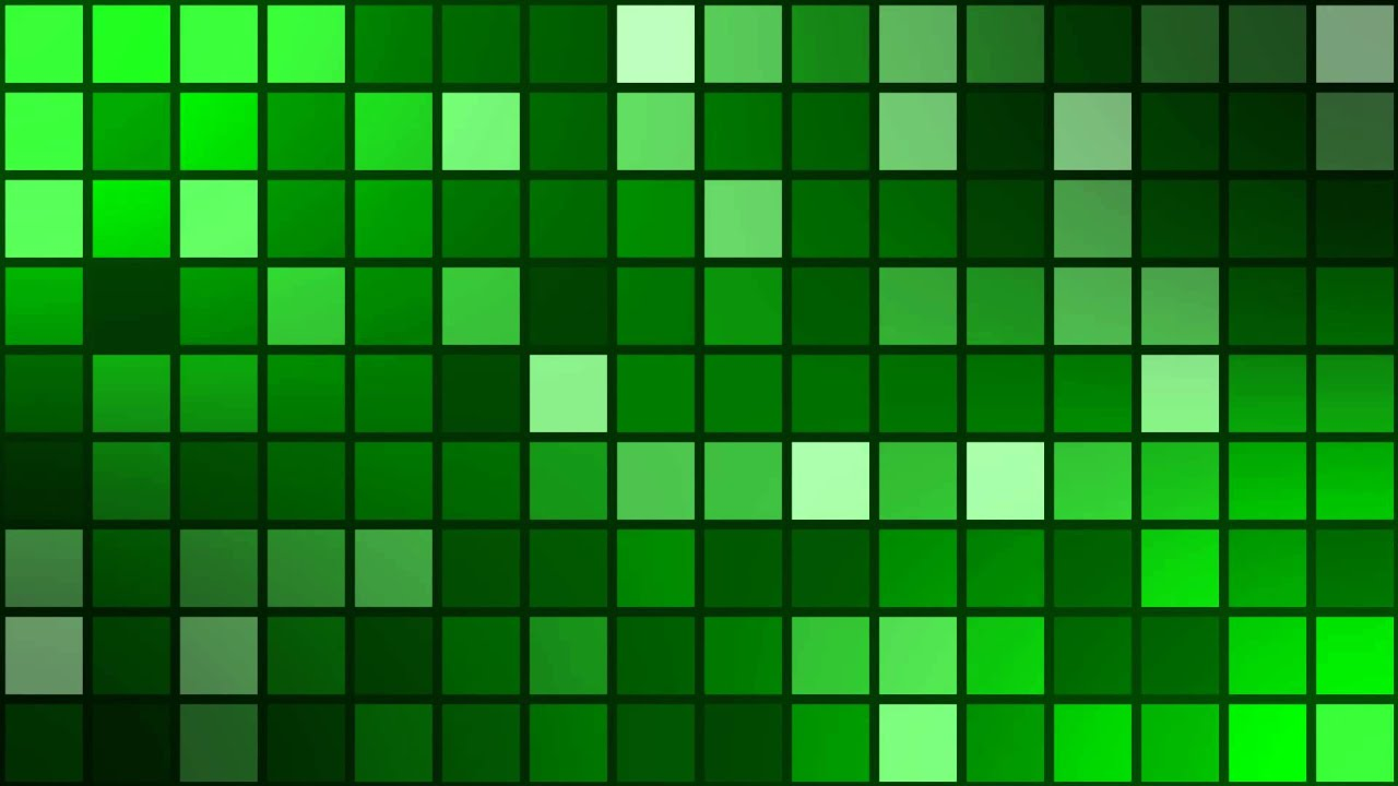 How To Make Animated Wallpaper Animated Mosaic With Dark Grid Backgroundvideo Green
