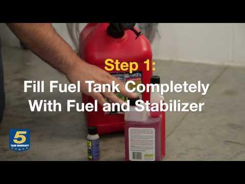 How to Winterize a Horizontal Shaft Overhead Cam Engine