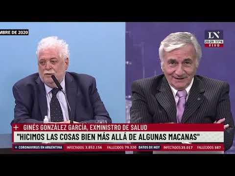 """""""Hicimos las cosas bien más allá de algunas macanas"""" aseguró Ginés González García"""
