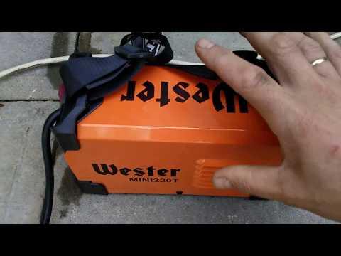 Честный обзор сварочного аппарата  Wester MINI  220T.
