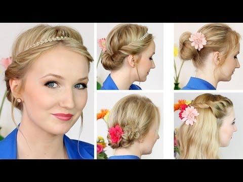Süße Frühlings Sommer Frisuren Für Mittellange Haare YouTube