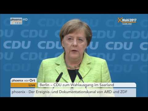 LTW Saarland: Pressekonferenz der CDU am 27.03.2017