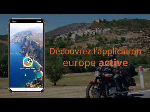 Application Europe Active pour smartphone