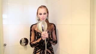 Светлана Ходченкова в мокром платье на съемке Glamour