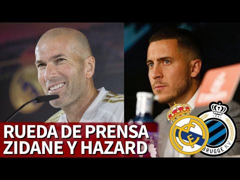 Champions |HAZARD y ZIDANE en rueda de prensa | Diario AS