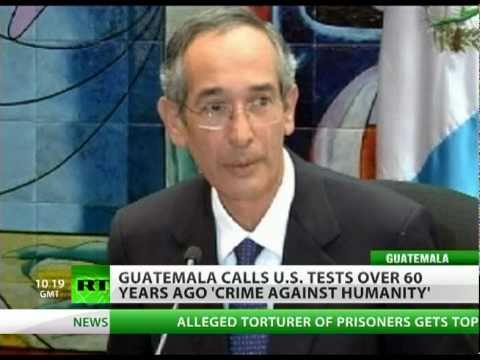 US syphilis tests in Guatemala 'crime against humanity'