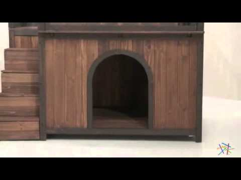 Boomer George Stair Case Dog House Product Review Video