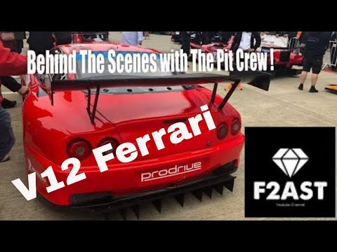 V12 Sound Ferrari 550 GTS | Racing at Silverstone Classics 2019