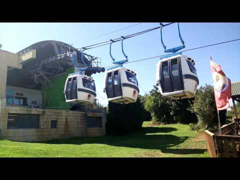 Manara cliff cable car - israel