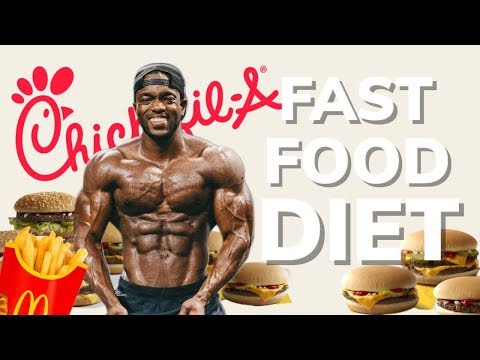 MY FAST FOOD DIET | Full Day Of Eating