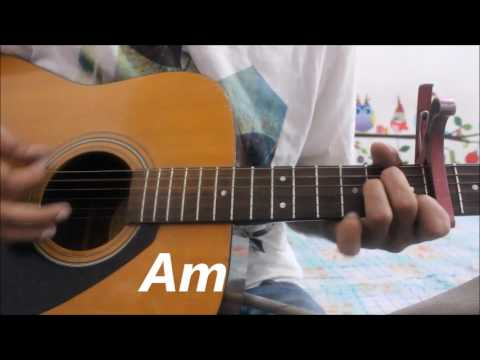 Charlie Puth - Attention - HIndi guitar Cover lesson Simple Chords & Strumming