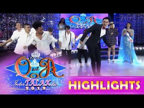 It's Showtime Miss Q & A: Kuya Escort Ion has backup dancers