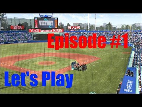 Lets Play Pro Baseball Spirits 2014!