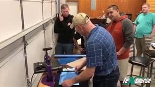 Texsource Specialty Printing Class Recap