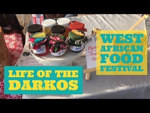 Ghana Vlog #8 | West African Food Festival