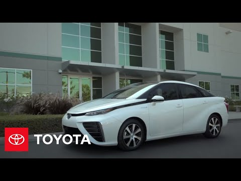 The Toyota Mirai l Driving Features   Toyota