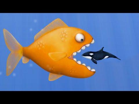EAT FISH AND GROW BIGGER! (Tasty Blue)