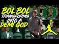 Bol Bol TRANSFORMS TO A DEMI GOD IN NYC at Jordan Brand All American!