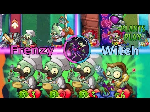 The Power of Frenzy shall not be Held - Immorticia Frenzy - Pvz Heroes
