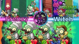 the power of frenzy shall not be held immorticia frenzy pvz heroes