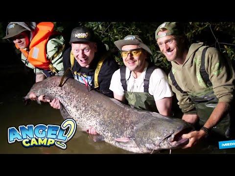 Sido angelt den Mega-Wels! 😱 Der Größte Fang des Camps! | Angelcamp 2