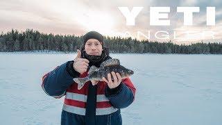 Рыбалка на Кольском 2017. Крупный окунь зимой. Места заветные.