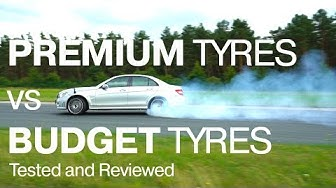 How BAD can tyres make a car? Premium VS Budget tyres tested and reviewed!