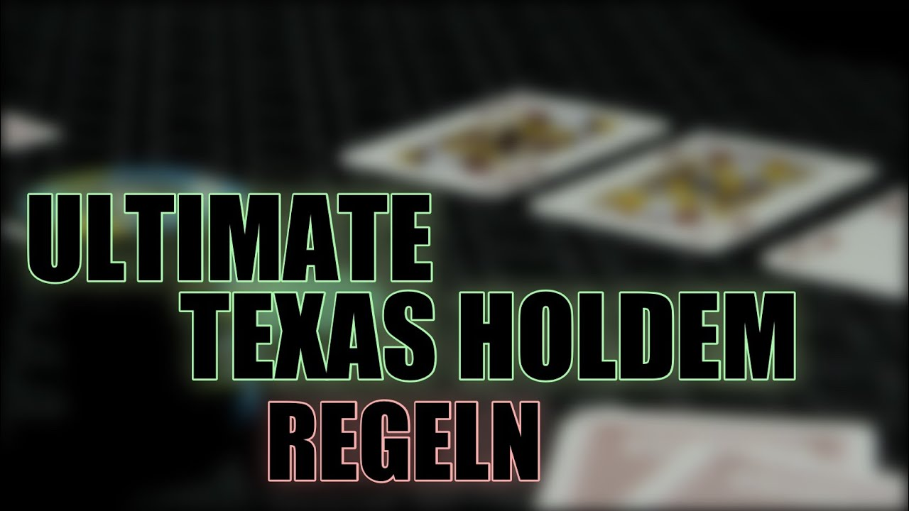 Ultimate Texas Poker Online