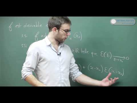 Fonctions : dérivabilité. Cours Maths Sup, Prépa HEC, BCPST