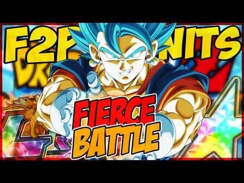 F2P FIERCE BATTLE UNITS | EASY LR BLUE VEGITO GRIND ★ Dokkan Battle [German/Deutsch]