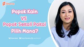 Popok Kain vs Popok Sekali Pakai, Pilih Mana? #Shorts
