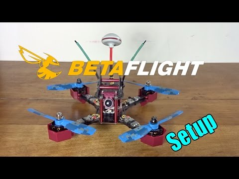 JJRC JJPRO P200 Initial Setup and Maiden Flight : Stock Beginner Config