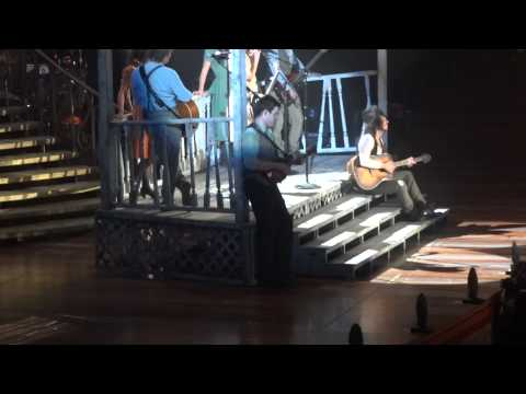 Taylor Swift- Our Song and Mean (live)