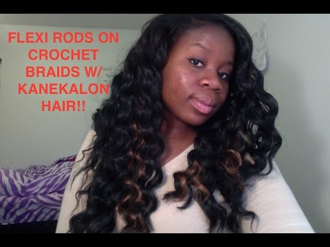 Download video: Turtorial: How to Flexi Rod Crochet Braids