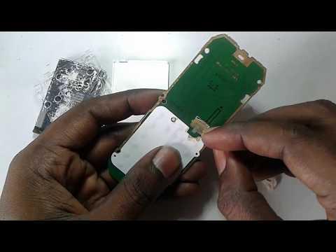 nokia 105 white lcd solution