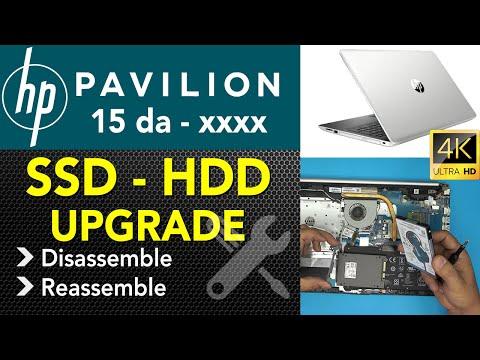 Hp 15 Da-xxx Series SSD Upgrade Guide