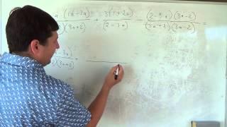 Алгебра 9 класс. 2 сентября. Упрощение выражений #2
