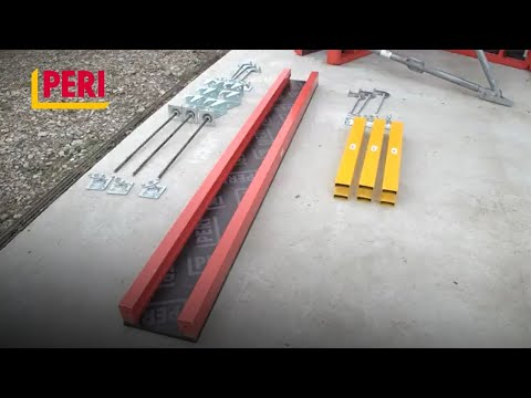 TRIO | HOW TO assemble stopend formwork (EN)