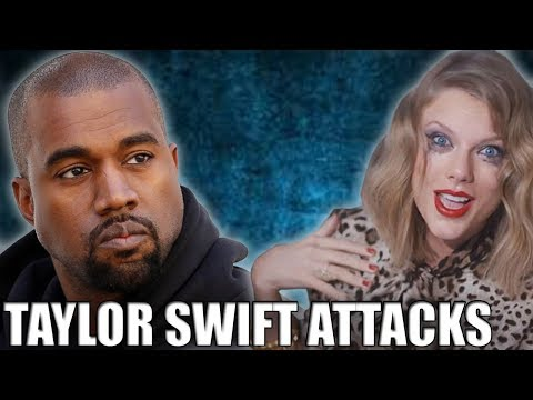 Taylor Swift Attacks Kanye West In New Song Look What You Made Me Do