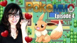 The Adorable Adventures of Hipster Girl & Eevee - PokeMMO #4 - w/ Facecam