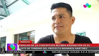 Multinoticias | Familias de La Concepción reciben su lote del programa Bismarck Martínez