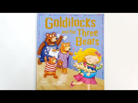 ❤️ Goldilocks And The Three Bears ❤️ Bedtime Stories ❤️ Children's Books Read Aloud ❤️