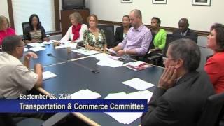 Transportation & Commerce  September 22, 2015
