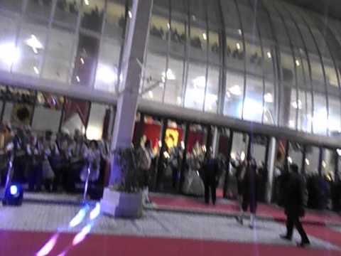 Exaltacion Fallera Mayor Valencia y Corte honor 2015 Recibimiento Palau Musica Valencia 1 video grab