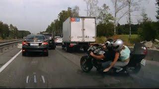Не для слабонервных. ДТП (авария) на Минском шоссе 13.08.2015