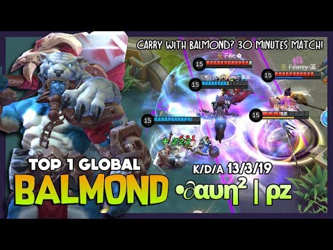 Carry Mode Balmond in Late Game? Let's Do it! •∂αυη² | ρz Top 1 Global Balmond ~ Mobile Legends